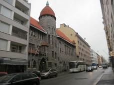 making up errands to walk around downtown Helsinki