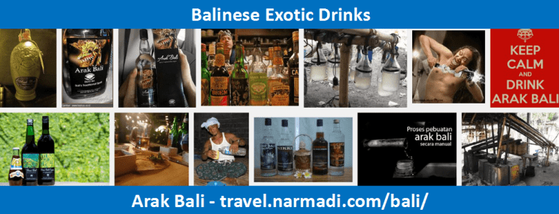 Arak - Balinese Exotic Drinks