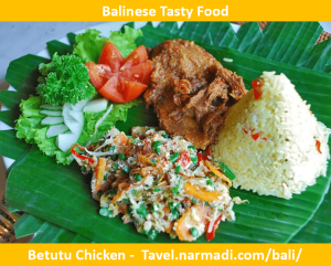 Betutu Chicken - Balinese Tasty Food