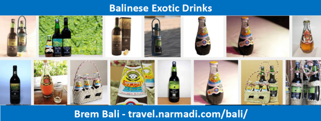 Brem bali - Balinese Local Drinks