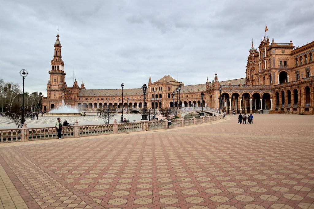 Plaza de España - Sevilla, Spanien