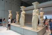 <h5>Akropolis Museum, The Karyatides</h5><p>Each one is different.</p>