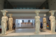 <h5>Akropolis Museum, The Karyatides</h5><p>One spot is empty, waiting for the return of the sixth sister where she belongs. Currently in the British Museum. Britain refuses to return her. </p>