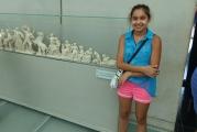 <h5>Akropolis Museum</h5><p>Model of the Parthenon decorations</p>