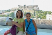 <h5>Akropolis Museum</h5><p>Stunning view of The Rock.</p>