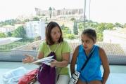 <h5>Akropolis Museum</h5><p>Eleni at work.</p>