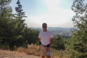 <h5>Agia Paraskevi foothills. </h5>