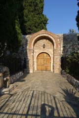 <h5>Agia Paraskevi foothills. </h5><p>Monasteri door.</p>