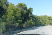 <h5>Agia Paraskevi foothills. </h5><p>Automated fire-extinguishing systems</p>