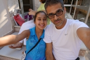 <h5>At Apostolos and Eleni`s house</h5><p>Glyka Nera.</p>
