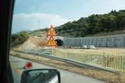 <h5>Public works, deserted.</h5>