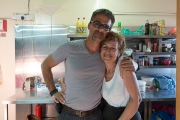 <h5>Mrs. Maroulla, at Ttakkas Tavern, 30 years later!</h5><p>I love this woman.</p>
