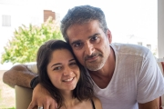 <h5>With my niece Konstantina</h5>