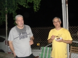 <h5>Cousin Panicos with my brother (right). From Marina's roll.</h5>