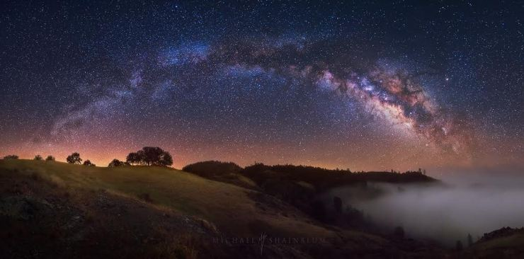 Michael Shainblum Milky Way Santa Ynez California