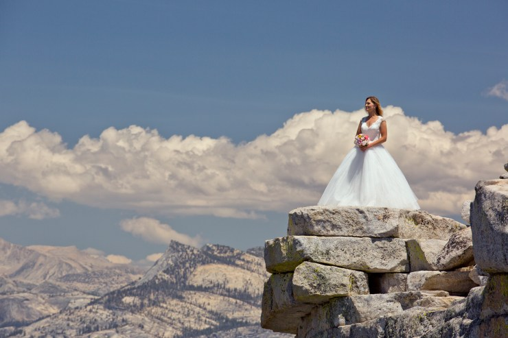 Brian Rueb Half Dome Yosemite Wedding 7