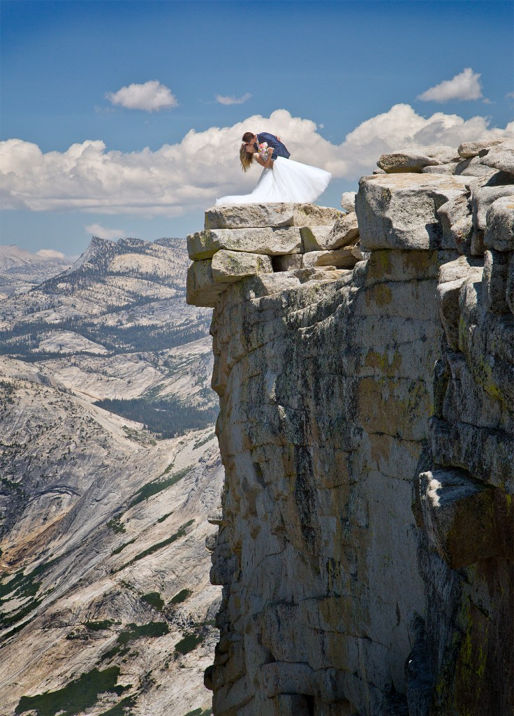 Brian Rueb Half Dome Yosemite Wedding 8