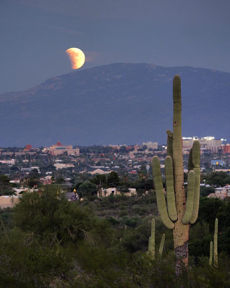 Sean Parker Tuscon Arizona Blood Moon