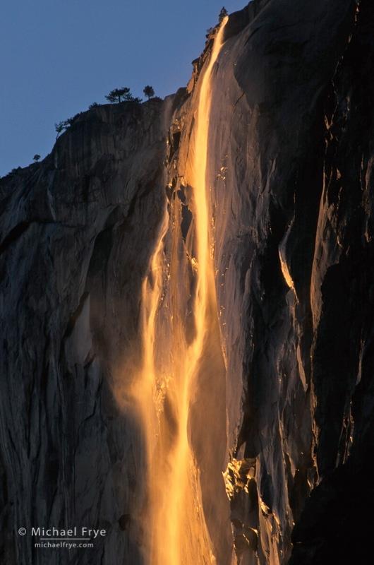 Horsetail Falls Yosemite Michael Frye