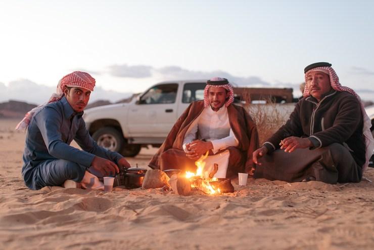 Wadi Rum Jordan Jeep Campfire 2 Michael Bonocore