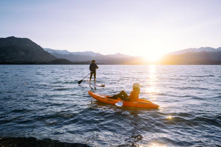 Kayak Lake Wanaka New Zealand 10