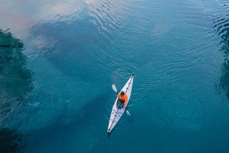 Kayak Lake Wanaka New Zealand 4