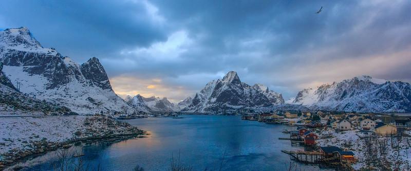 Reine Norway Winter Michael Bonocore