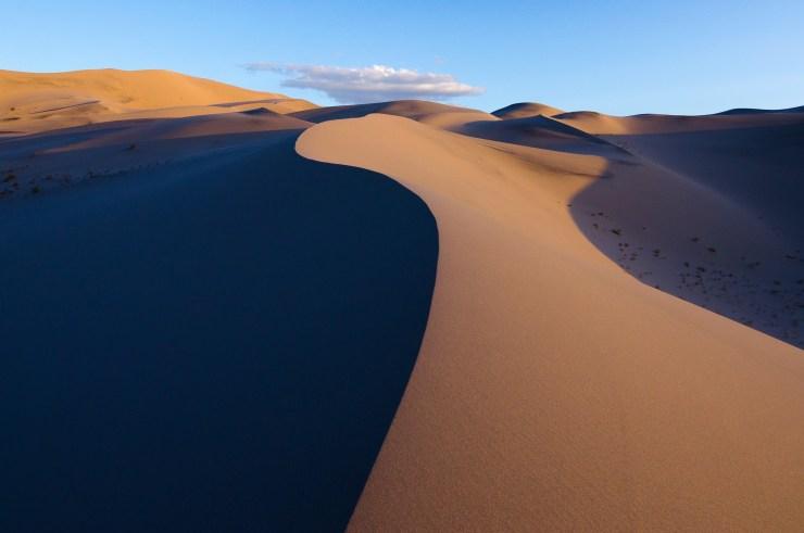Eureka Dunes - S-Curve