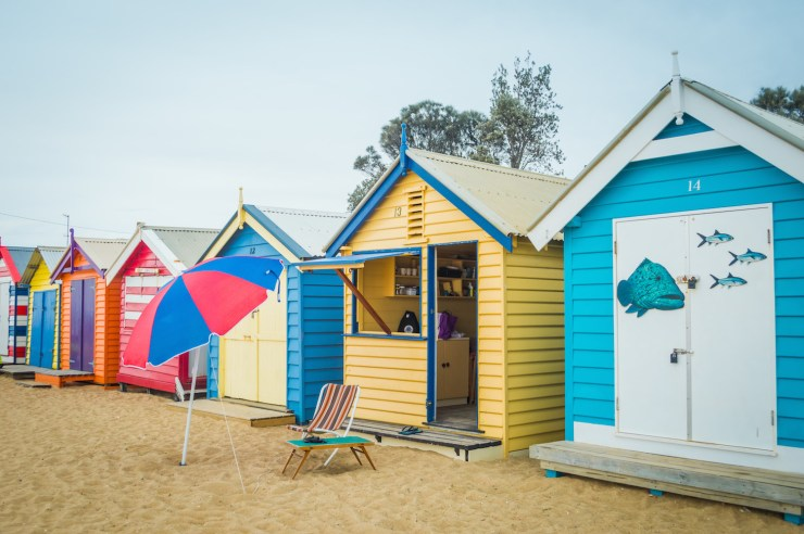 Brighton Bathing Boxes Melbourne Genevieve Hassall