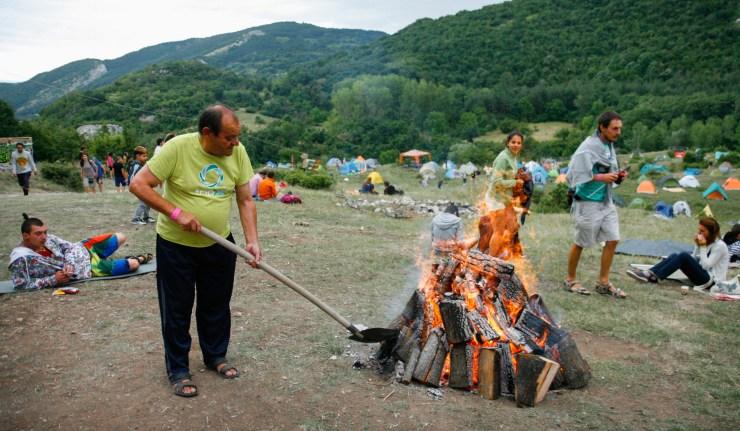 Bulgarian Fire Dancers