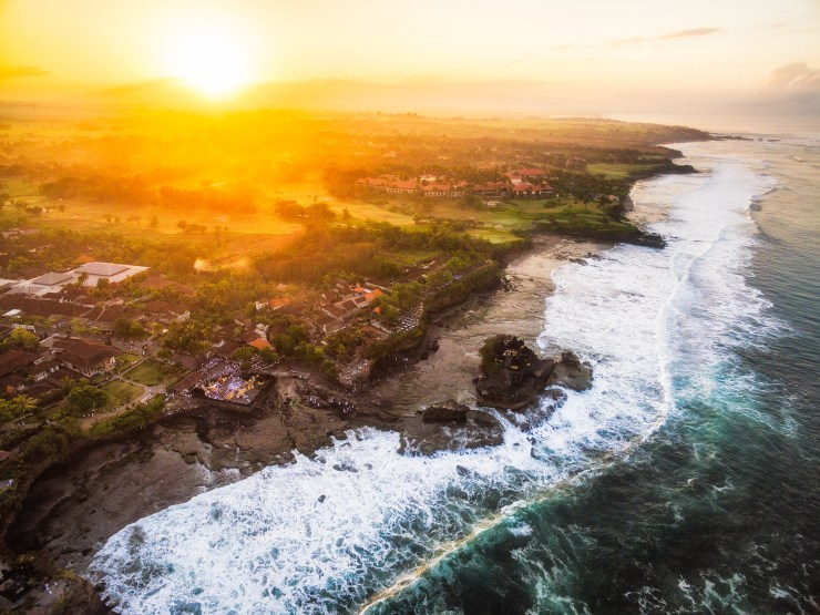 Indonesia Bali Tanah Lot by drone by Michael Matti