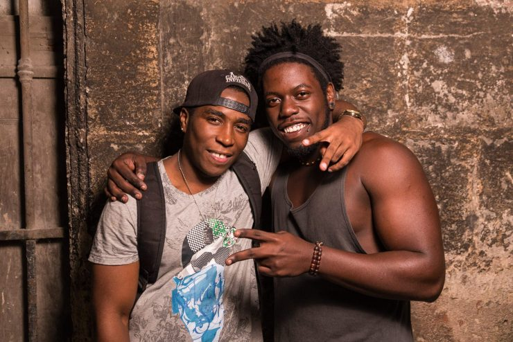 Yoni and Raudelis, Cuban Hip Hop Artists