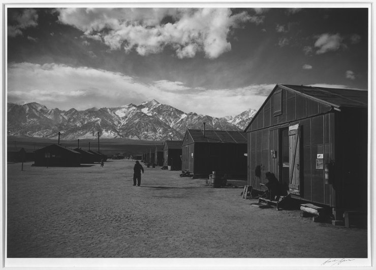 Ansel Adams Japanese Internment Camp 4