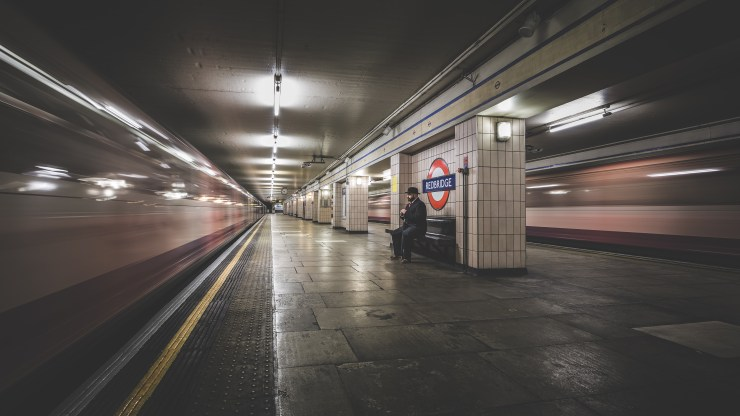 The London underground speeds on past as The Bowler Man starts his day in this magical city. London was voted to be the most desirable city in the world to work in.