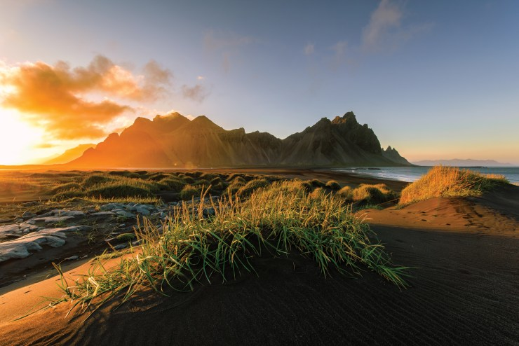 Landscape Iceland By Evgeny Tchebotarev