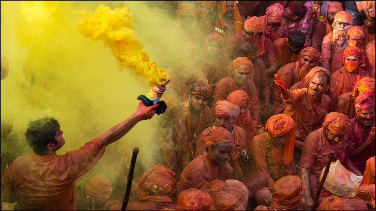 It's time to celebrate Holi