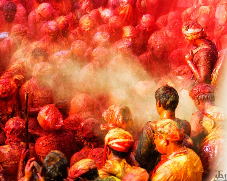 Holi at it's crazy best