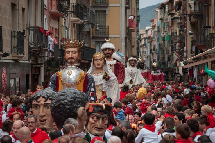 Festival of San Fermin, Pamplona, Spain, Europe