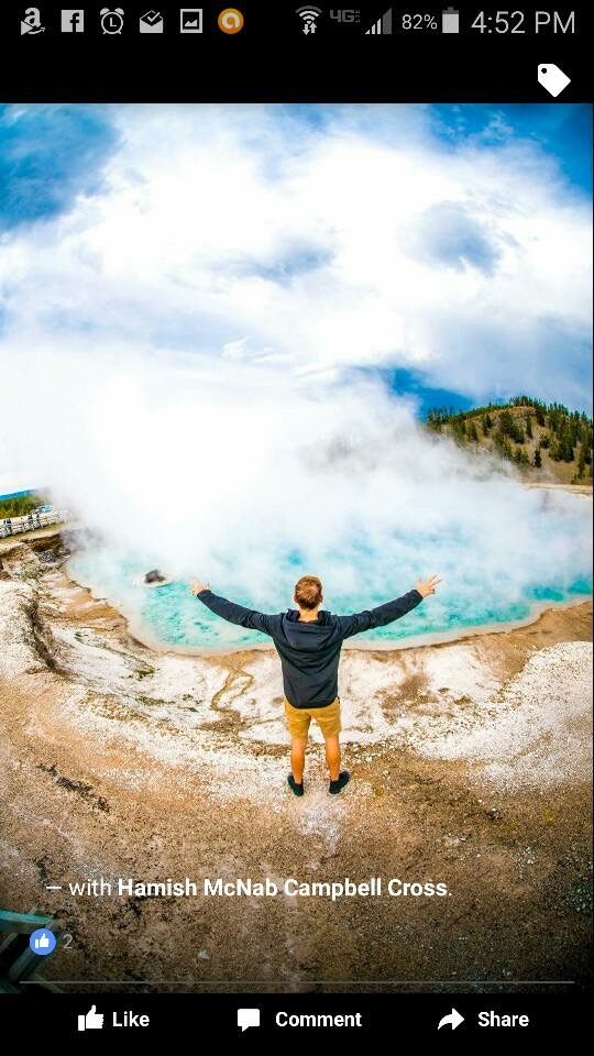 Filmmakers Trample Yellowstone's Grand Prismatic Spring, Want YOU To Work To Make It Right