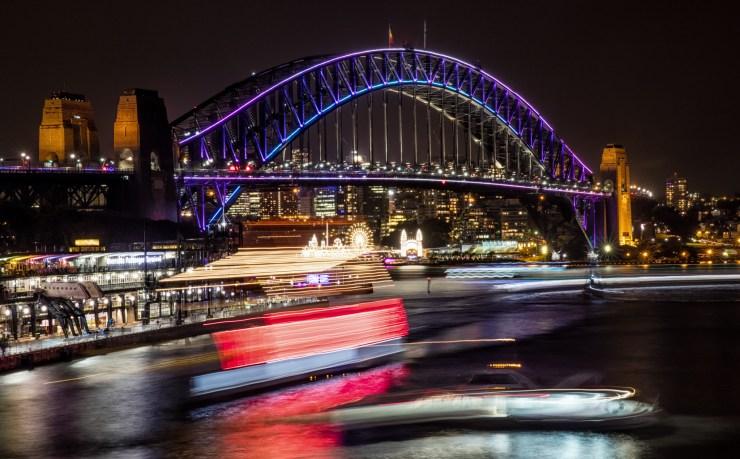 SydneyHarbourBridgeVivid