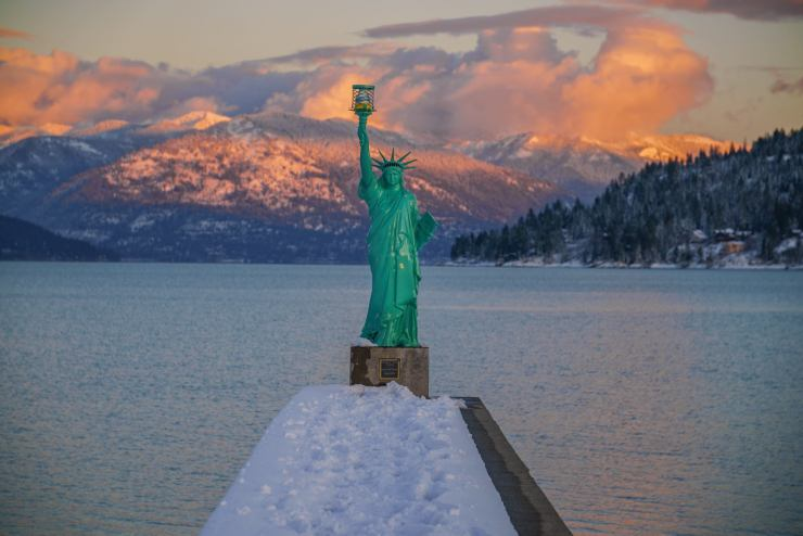 sandpoint-idaho-statue-of-liberty