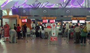 KLIA2 Check In Counter