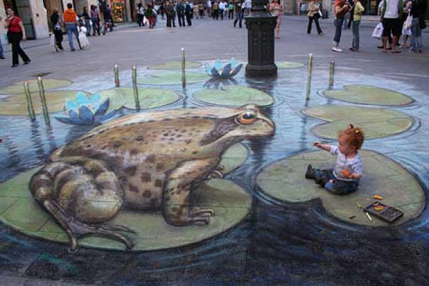 3D Art in the street