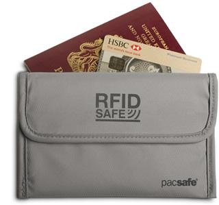 The Best New Outdoor Gear: PacSafe RFIDsafe Wallet