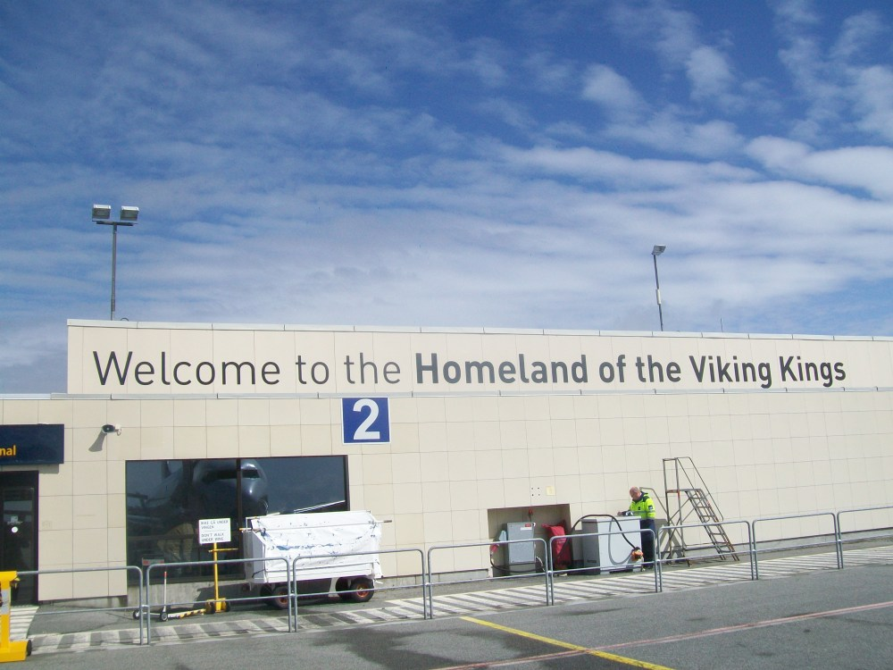 Flying into Haugesund, Viking Homeland, Western Norway (6/6)