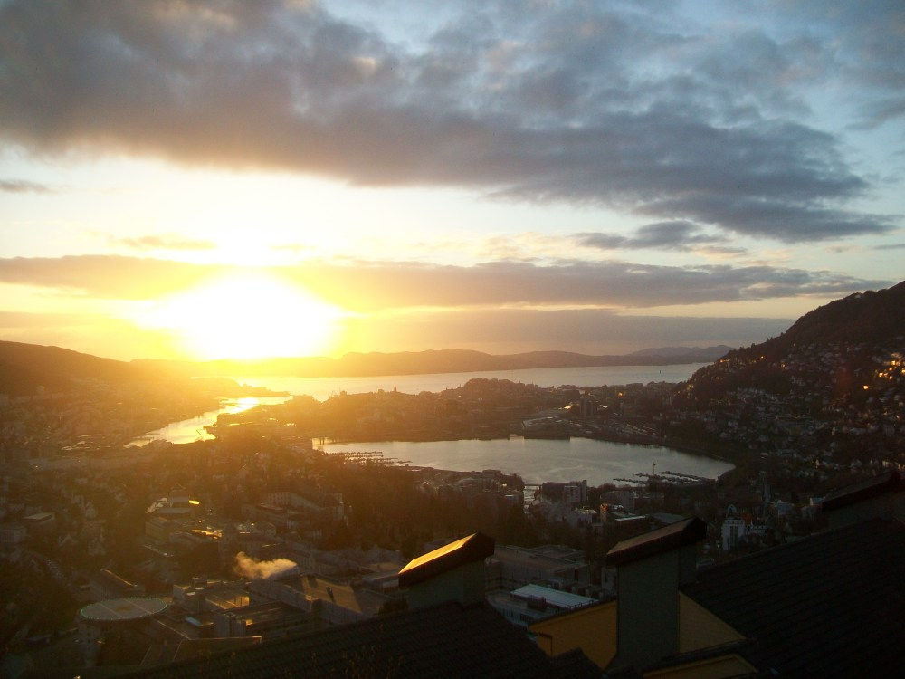 Bergen, Norway, Fjord, City and Sunset Photos (6/6)