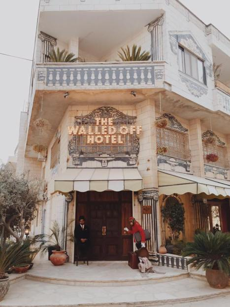 What to see and do in the West Bank, Palestine. The Walled Off Hotel in Bethlehem is a new attraction.