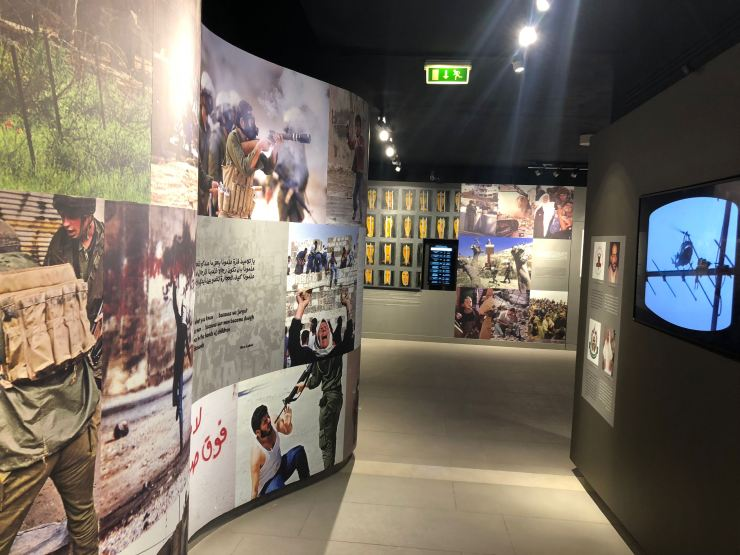 What to see and do in the West Bank, Palestine. The Yasser Arafat Museum.