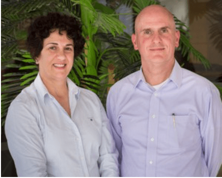 Salwa Duaibis and Gerard Horton from Military Court Watch