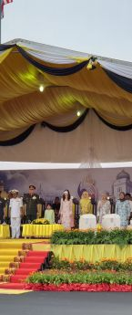 National Day Parade Held In Taiping